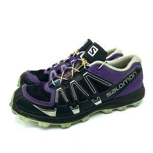 Salomon Fell Raiser Purple Mesh A Sneaker Running
